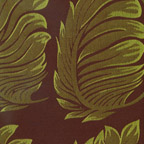 Fern Damask  Kiwi-Chocolate