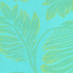 Fern Damask  TiffanyBlue-Gold