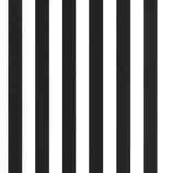 Classic Style  Awning Stripe Black