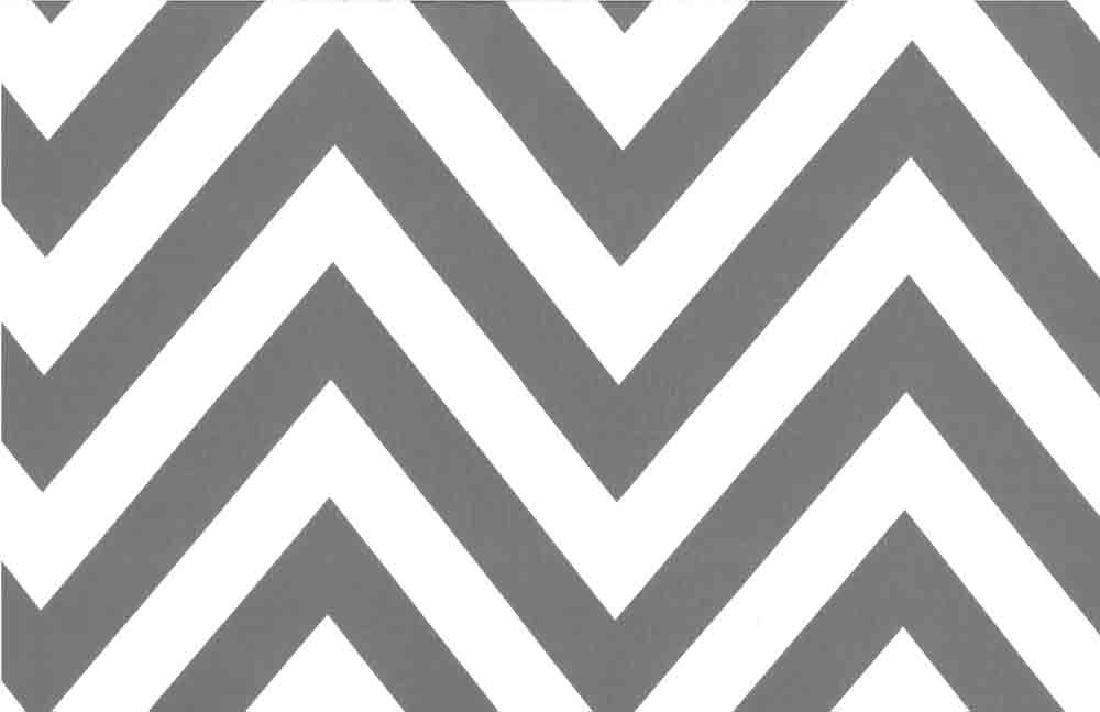 Classic Style  Chevron Charcoal