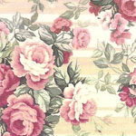 Prints  English Rose-Mauve